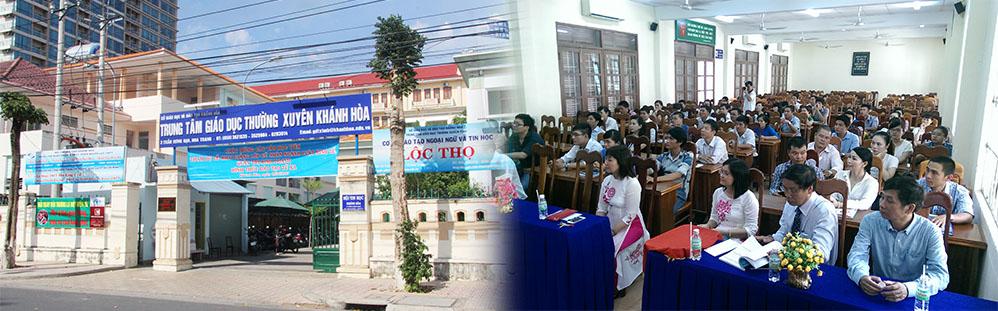 Trung tam GDTX tỉnh Khánh Hòa