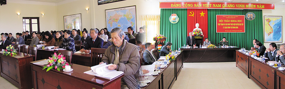 Trường Chính Trị Lâm Đồng 2